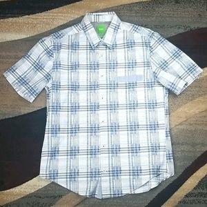 Hugo Boss Short Sleeve Button Down Shirt